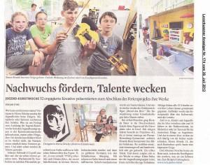 2013-07-30-Stadtanzeiger-JugendKunstWoche